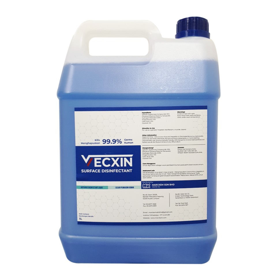 VECXIN Surface Disinfectant 5L