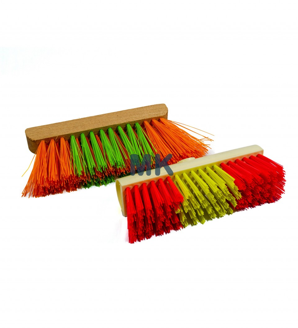 Drain Brush/ Wooden Hard PVC Broom