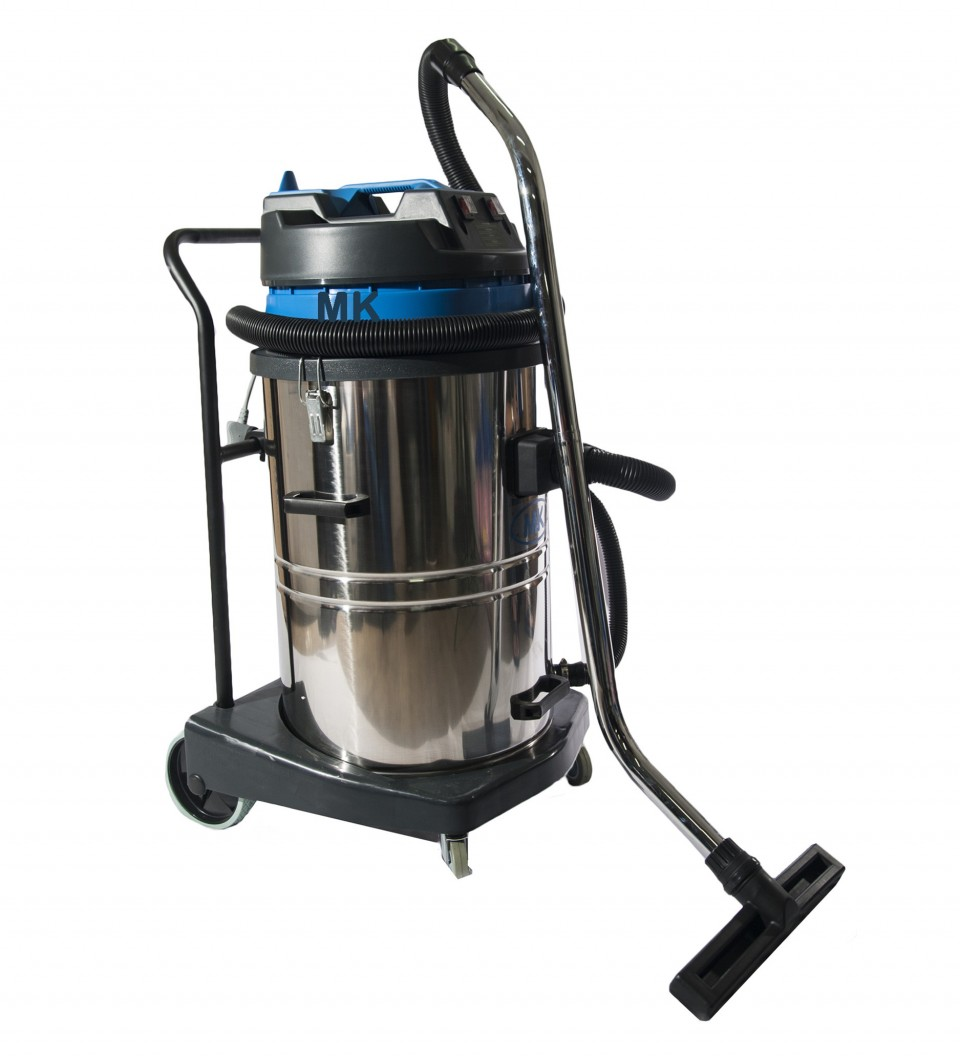 MK Stainless Steel Industrial Wet and Dry Vacuum / 70L
